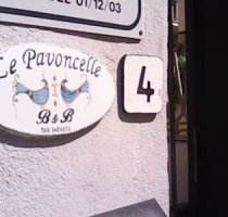 Bed and Breakfast Le pavoncelle